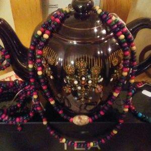 Set of Necklaces, Earrings, Bracelets/ Anklet